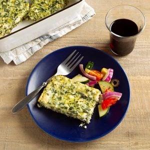 Greek Spinach Bake