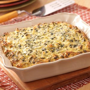 Greek Spinach Bake