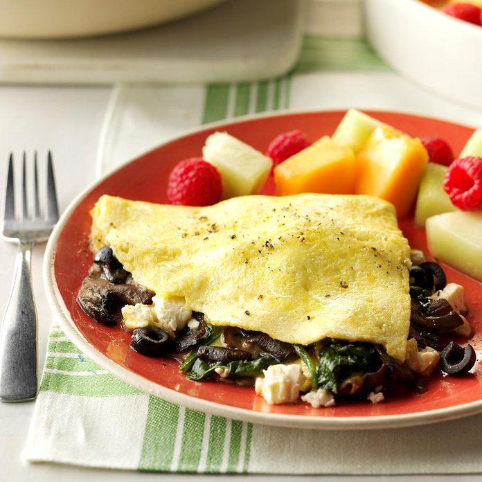 Greek Veggie Omelet