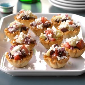 Greek Veggie Tartlets