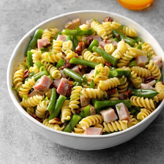 Green Bean Pasta Salad