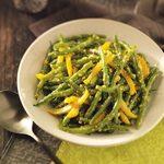 Green Beans in Yellow Pepper Butter