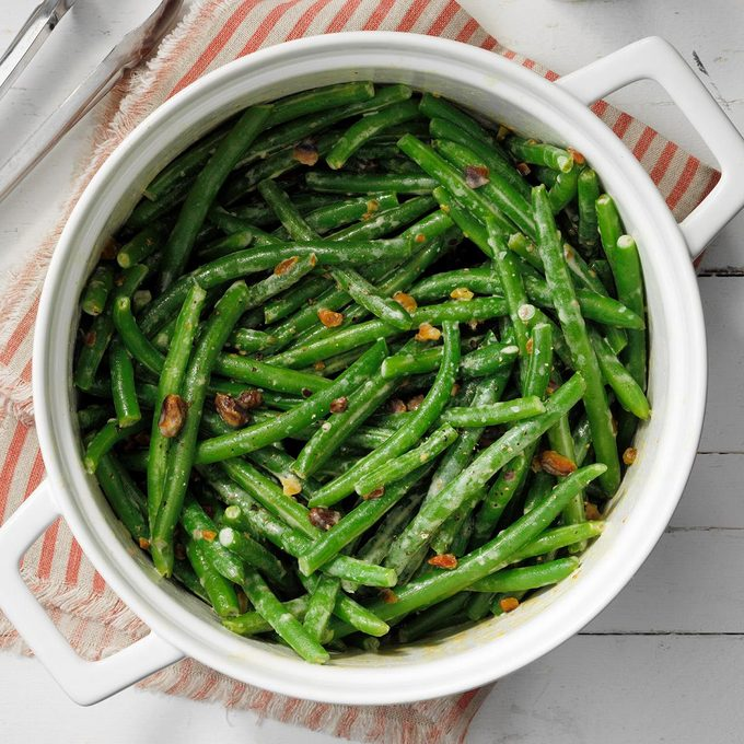Green Beans With Creamy Pistachio Sauce Exps Cimz19 143567 E09 06 11b