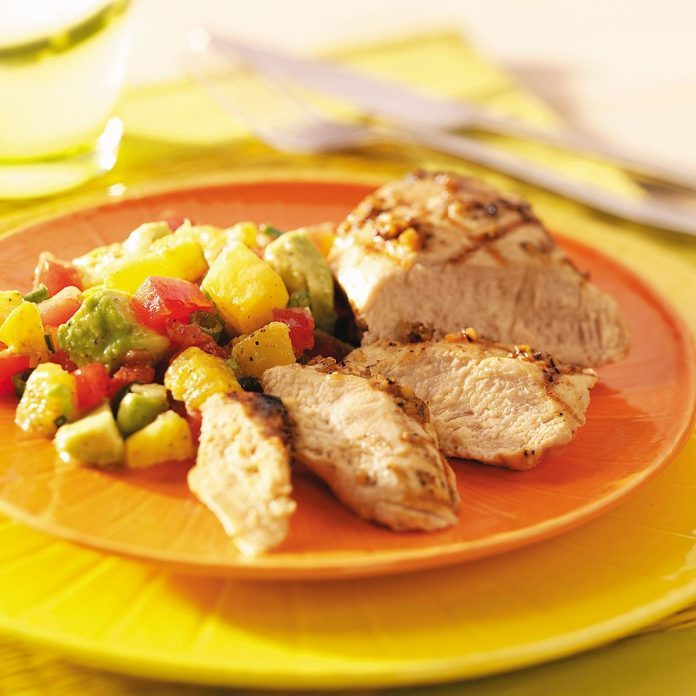 Grilled Caribbean Lime Chicken
