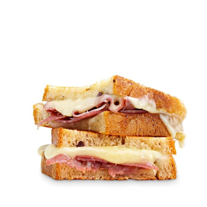Grilled Cheese & Prosciutto