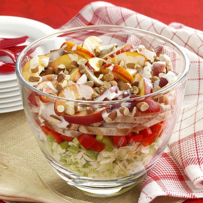 Grilled Chicken Cabbage Salad