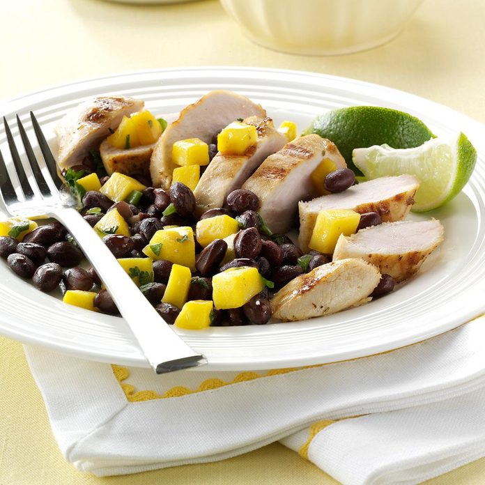 Day 4 Dinner: Grilled Chicken with Black Bean Salsa