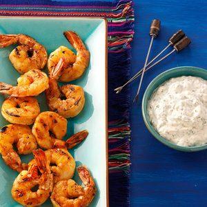 Grilled Chipotle Shrimp