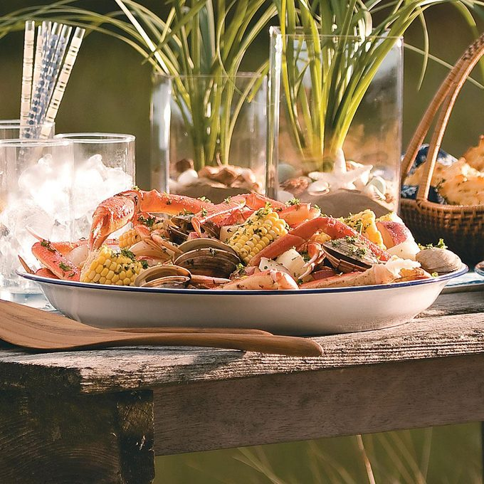 Grilled Clam Bake