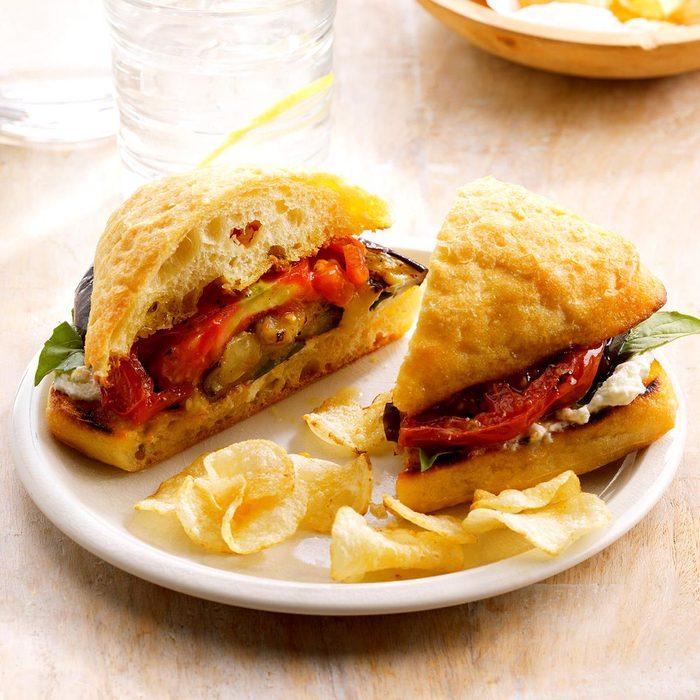 Grilled Eggplant Sandwiches Exps Sdas17 200685 B04 05 1b 3