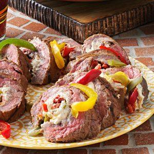 Grilled Fajita Rolled Steak