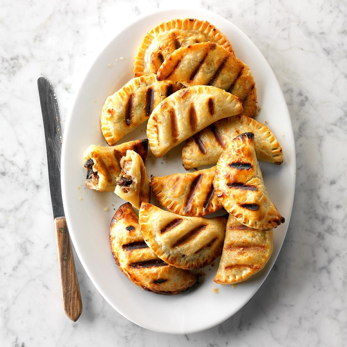Grilled Figgy Pies