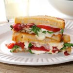 Grilled Goat Cheese & Arugula Sandwiches