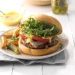 Grilled Ham Burgers