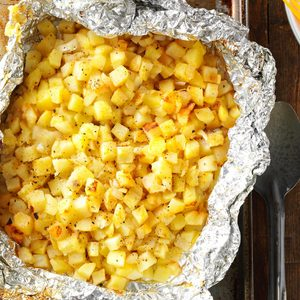 Grilled Hash Browns