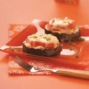 Grilled Italian Eggplant Slices