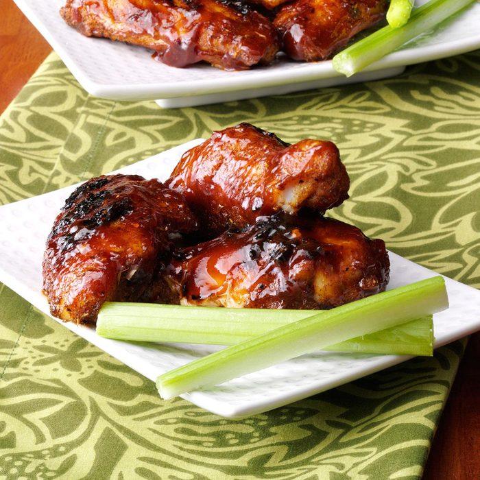 Grilled Jerk Chicken Wings