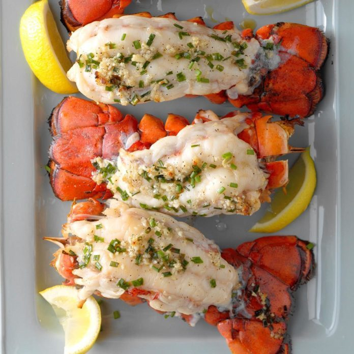 Surf...: Grilled Lobster Tails