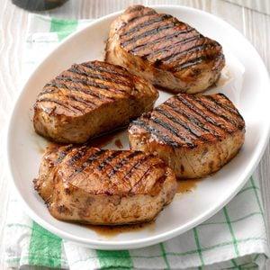 Grilled Maple Pork Chops