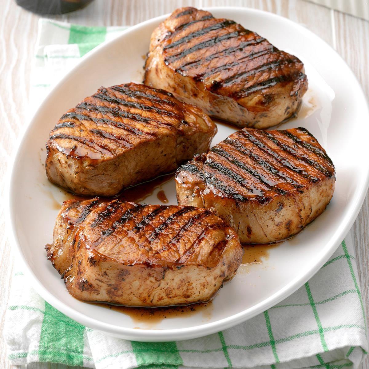 Grilled Maple Pork Chops Recipe