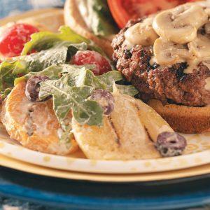 Grilled Potato & Arugula Salad