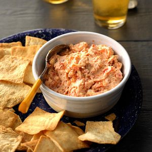 Grilled Red Pepper Dip