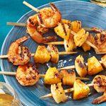 Grilled Shrimp Appetizer Kabobs