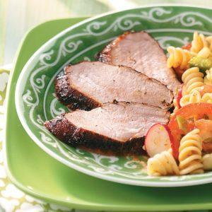 Grilled Spicy Pork Tenderloin