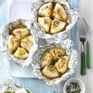 Grilled Sweet Onions