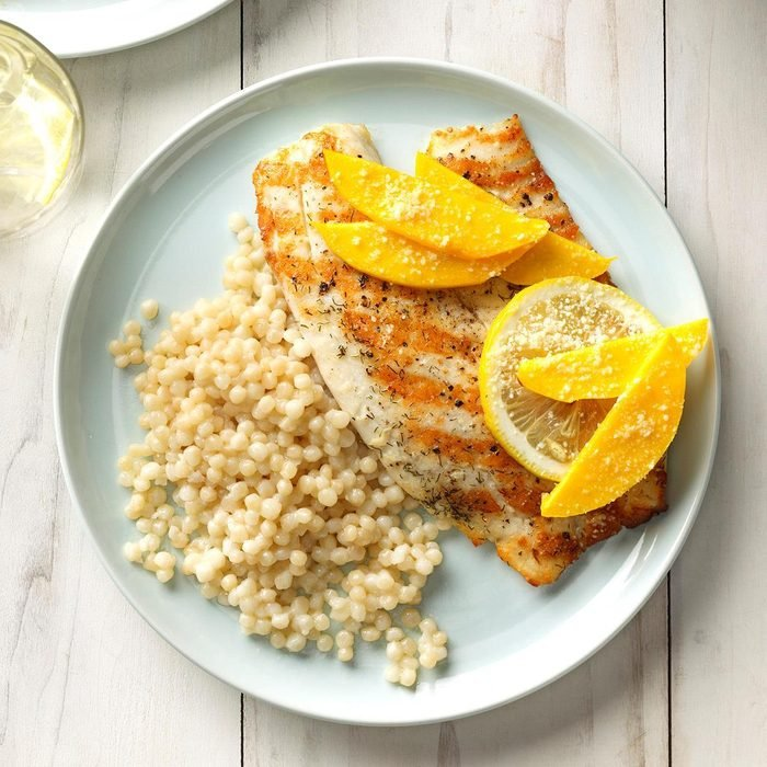 July 14: Grilled Tilapia with Mango