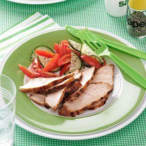 Grilled Turkey Tenderloin