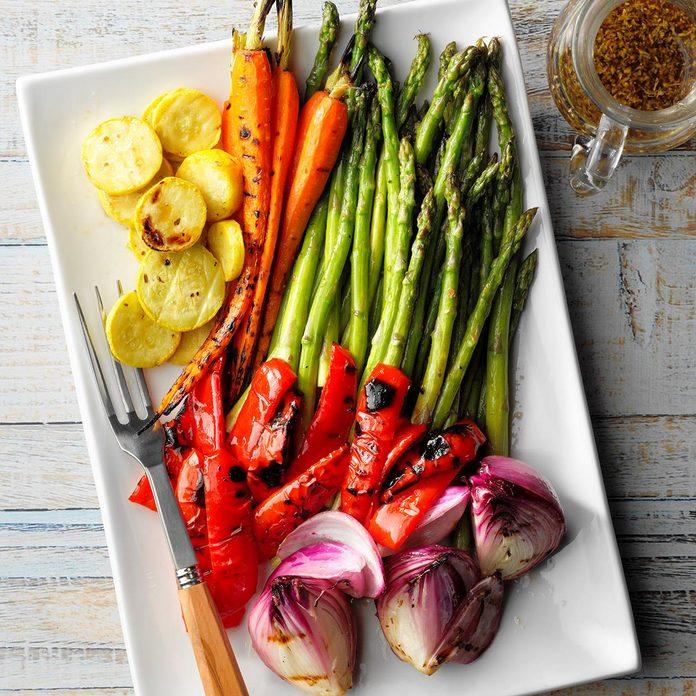 Minnesota: Grilled Vegetable Platter