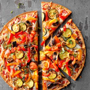 Grilled Veggie Pizza