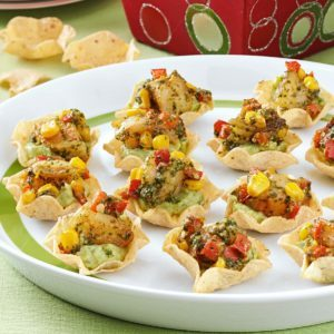 Guacamole Shrimp Appetizers