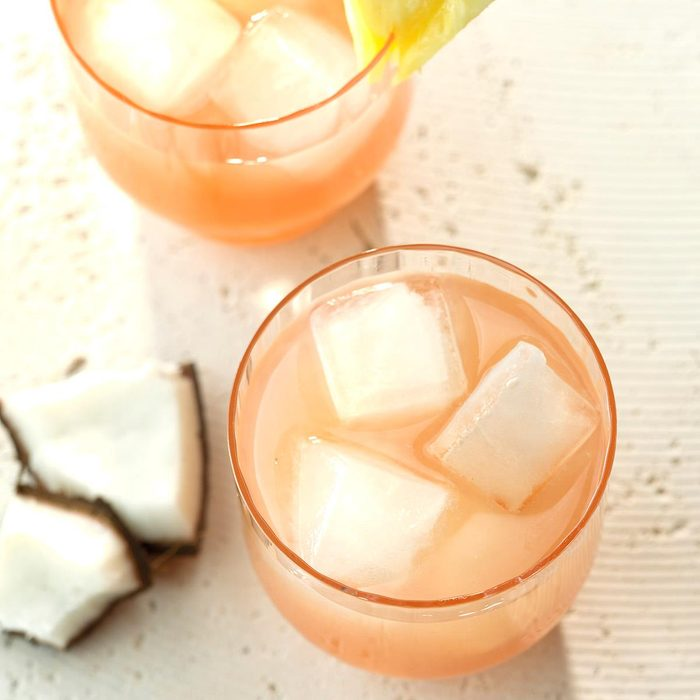 Guava Coconut Rum Cocktail