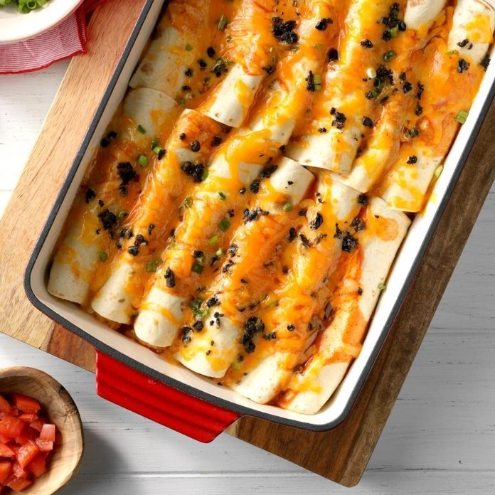 Day 3: Halibut Enchiladas