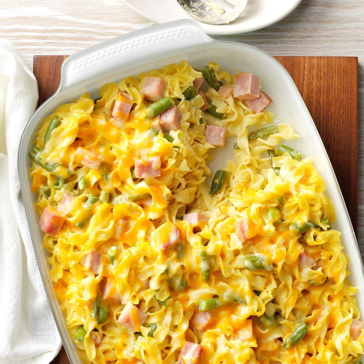 Ham Amp Cheese Casseroles Recipe Taste Of Home
