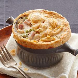 Ham & Cheese Pot Pie