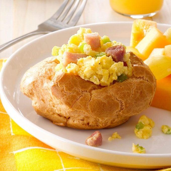 Ham & Egg Brunch Puffs