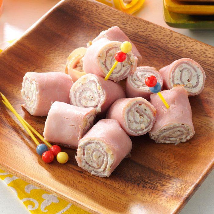 Ham 'N'  Cheese Pinwheels