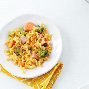 Ham & Noodles with Veggies