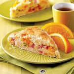 Ham and Cheddar Scones