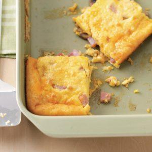 Ham and Egg Breakfast Casseroles