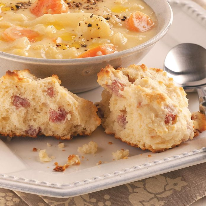 Ham and Swiss Biscuits