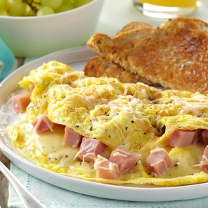 Ham and Swiss Omelet