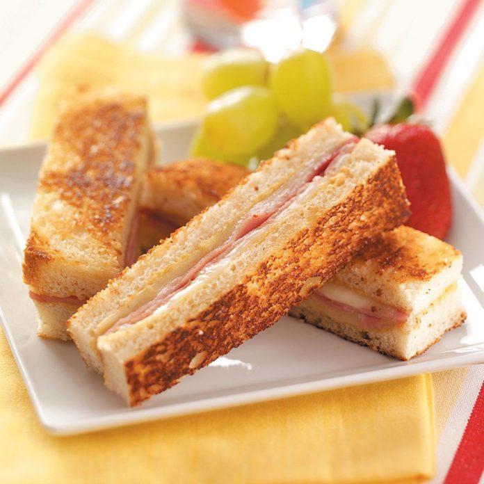 Ham 'n' Cheese Brunch Strips