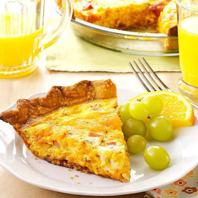 Wyoming: Ham 'n' Cheese Quiche