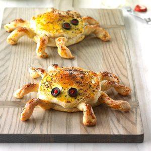 Ham 'n' Cheese Spiders