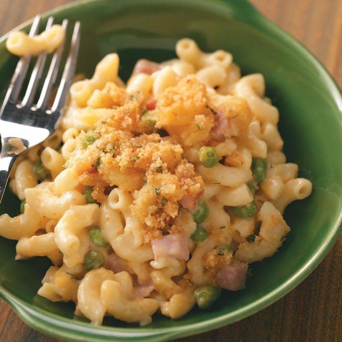 Ham 'n' Noodle Hot Dish