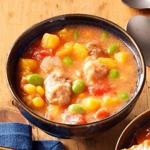 Harvest Butternut & Pork Stew